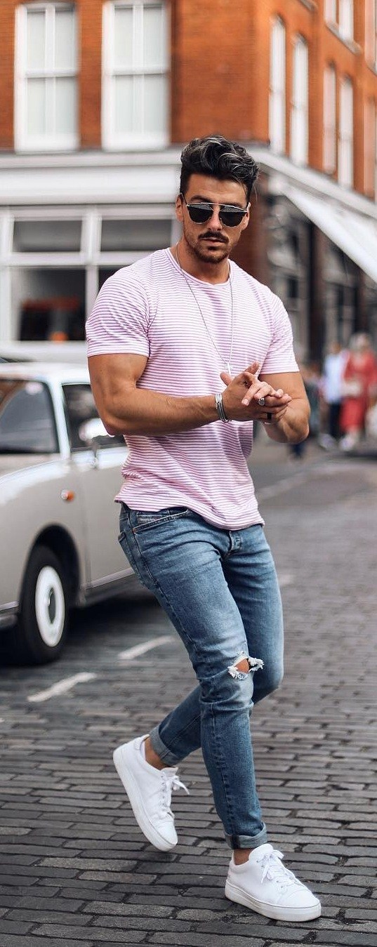 Simple Outfit Ideas For Men With Good Physique