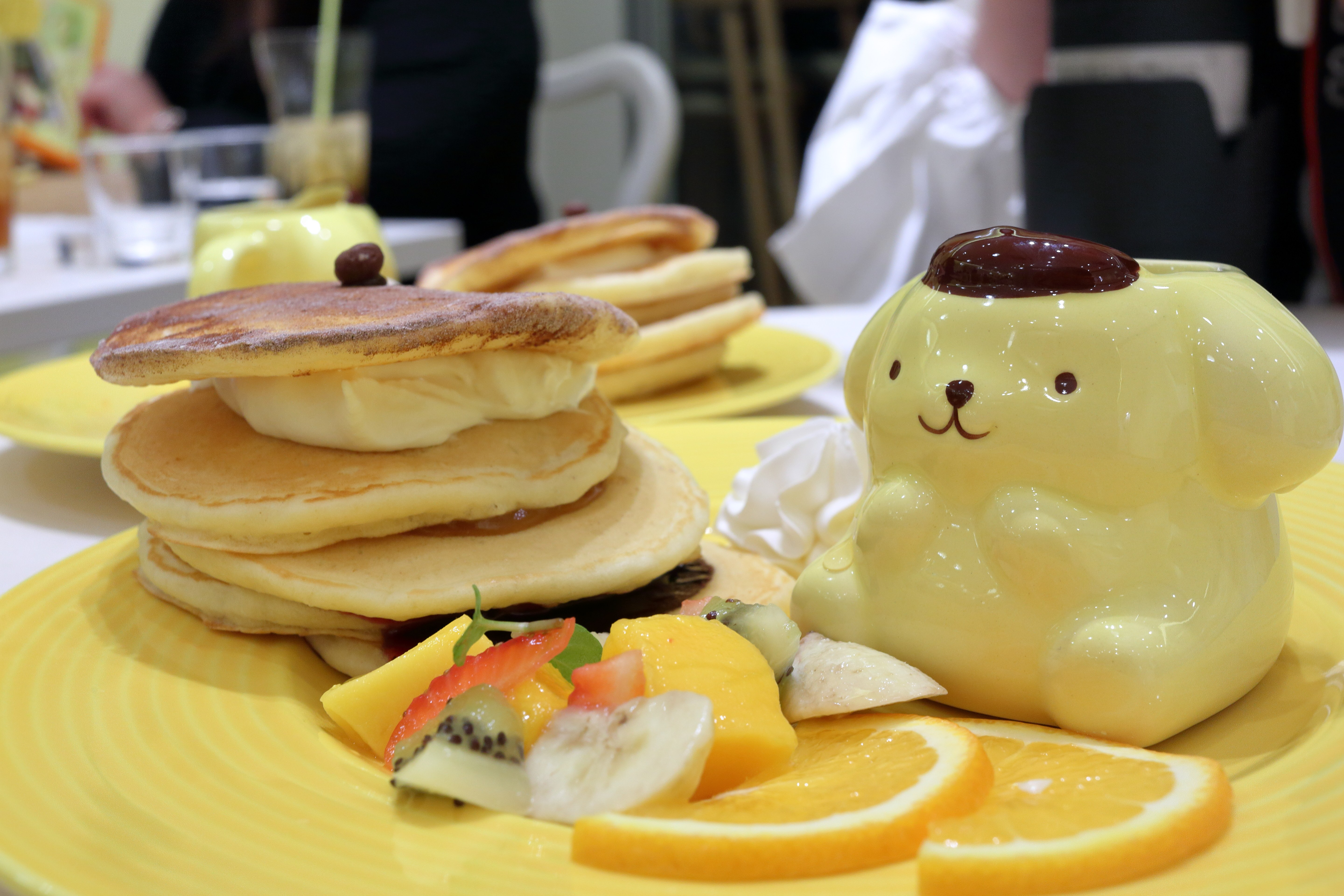 Pancakes in Tokyo are amazing!