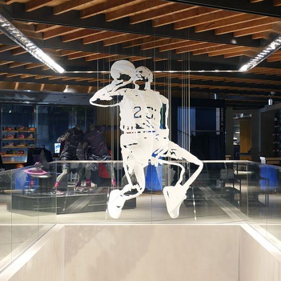 Nike: 3D Jordan Sculpture