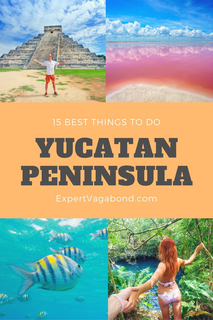 Things to do in the Yucatan Peninsula. More at ExpertVagabond.com