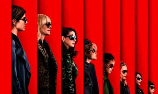 The first poster for Ocean's 8 is giving us Kraftwerk vibes