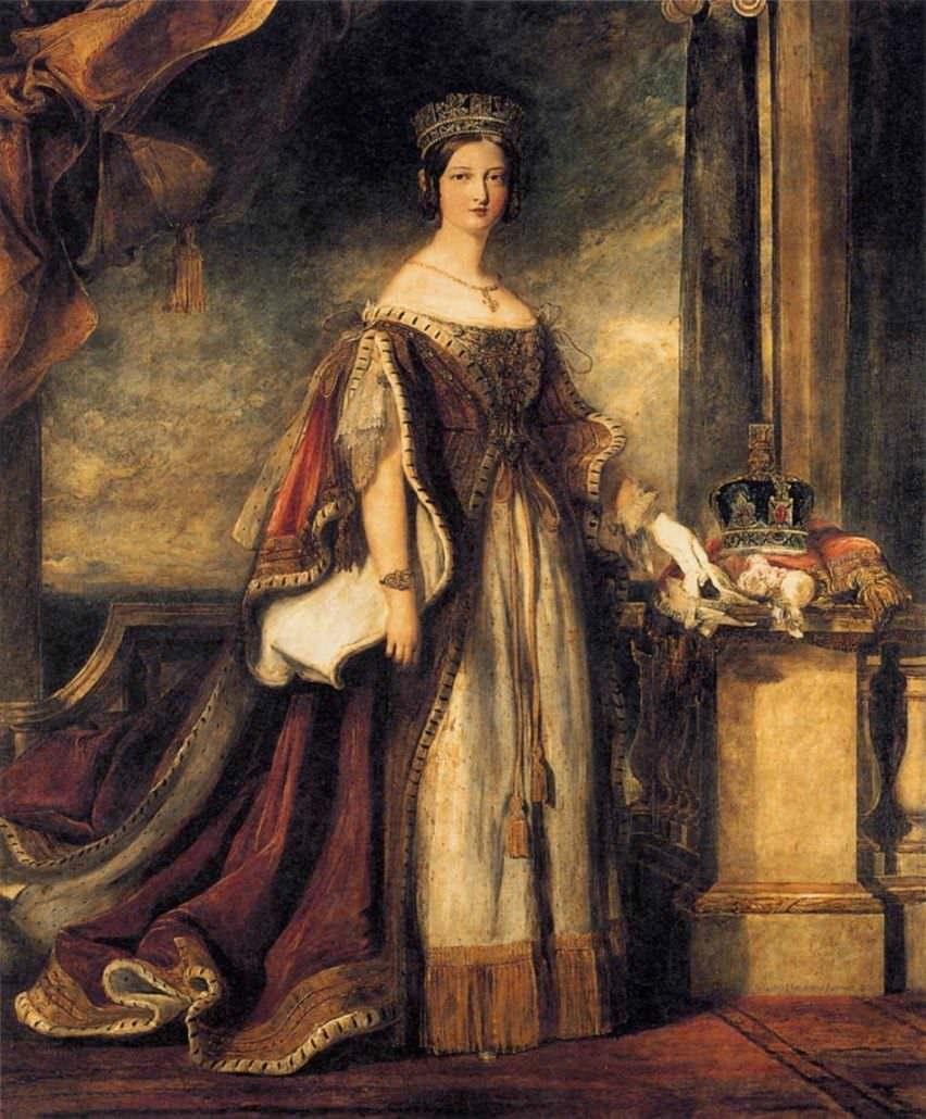 Queen Victoria in 1840