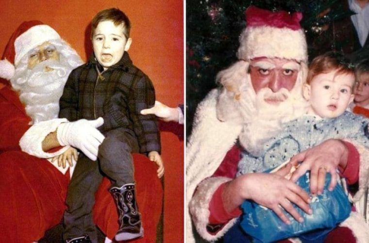 18 Vintage Santas That Are Creepy as Hell