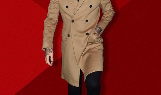 David Beckham's Winter Layering Skills Are Very 2017