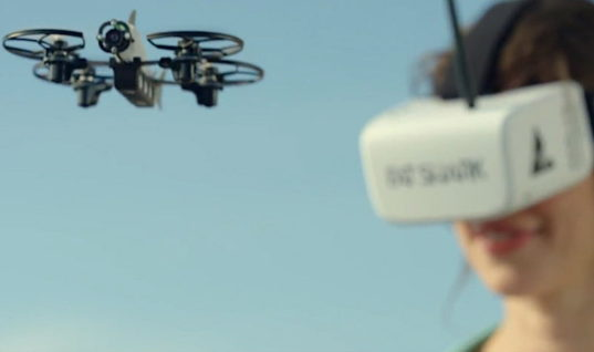 Quadcopter kit from Fat Shark has wannabe drone racers in its sights