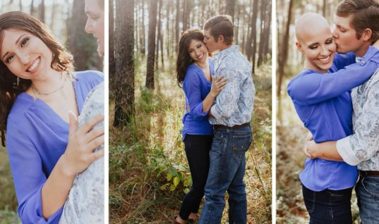 Woman Inspires Millions By Being Her True, Authentic Self In Engagement Photos