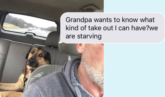 Woman Leaves Her Dog With Dad, Receives Adorable Texts From Him