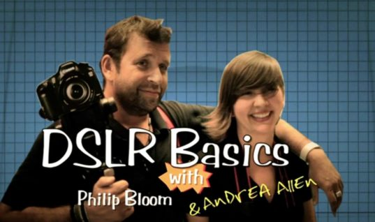 Introduction to DSLR Cameras with Philip Bloom