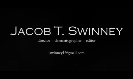 Jacob T. Swinney // Demo Reel (2014)