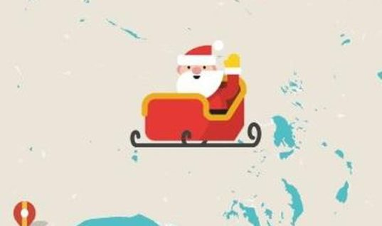 Google, NORAD trackers go live as Santa Claus takes off
