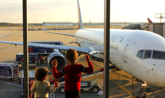 Traveling with kids for the holidays