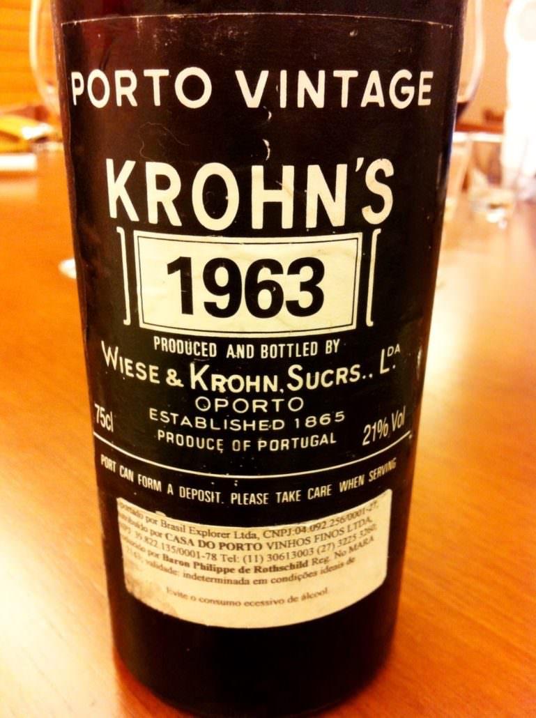 Vintage Port by Krohns