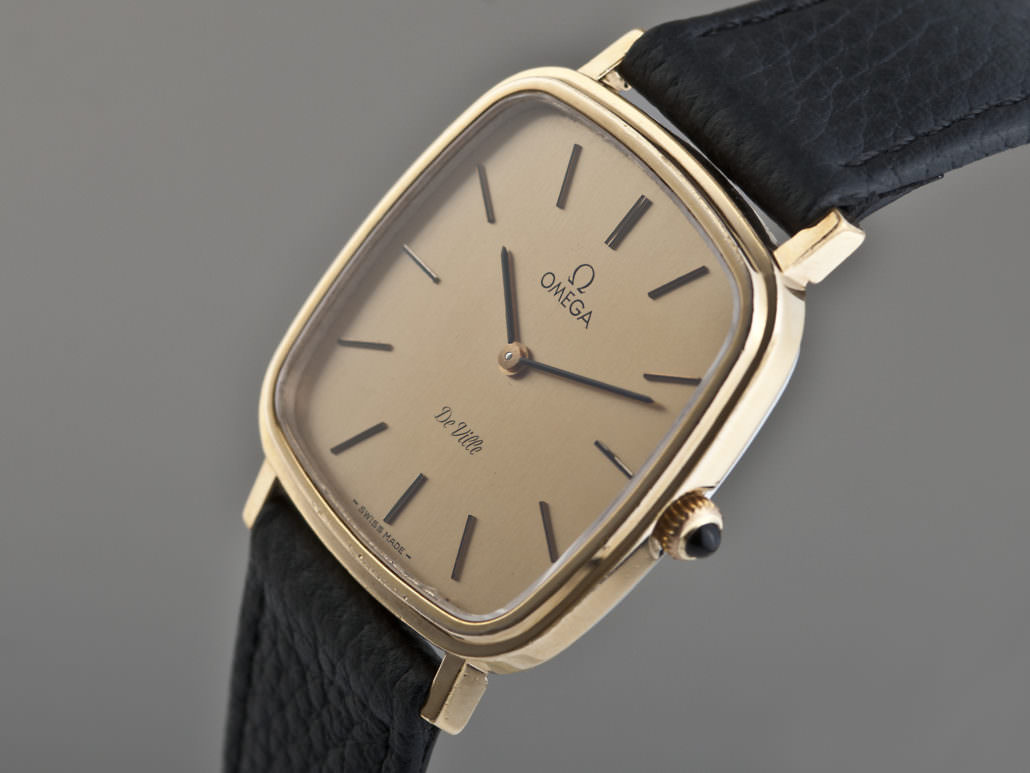 Vintage watches can be a good conversation piece like this Omega De Ville