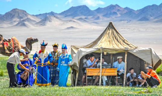 Tourist sites in Mongolia
