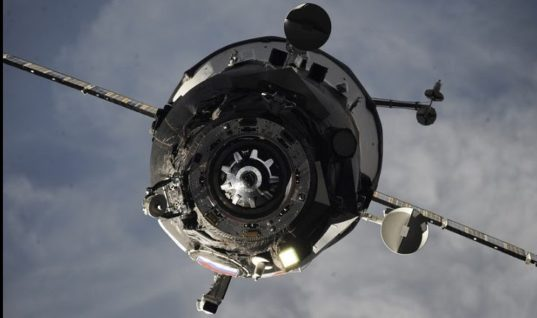 Progress MS-06 Freighter Undocks From ISS, Re-Enters Atmosphere