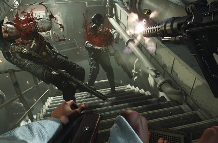If Wolfenstein 2's devs want you to shoot at something, they put a Nazi in front of it