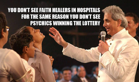 Why Aren't Faith Healers Working In Hospitals?