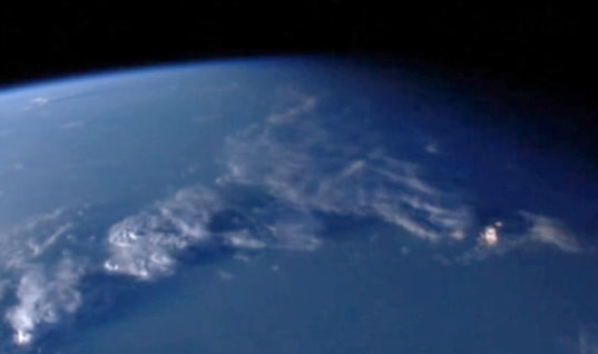 IS THIS THE FLOATING CITY? Object miles long orbiting Earth 'seen on NASA live stream'