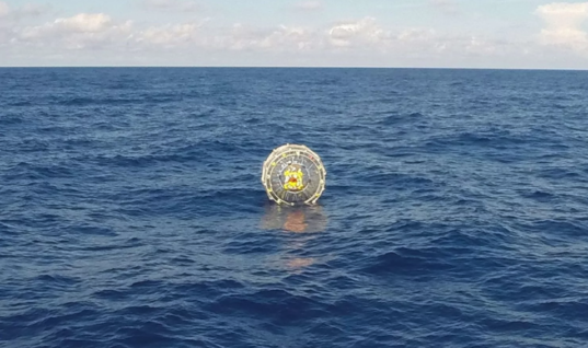 U.S. Coast Guard forced to rescue man in Bermuda Triangle inflatable 'bubble' stunt