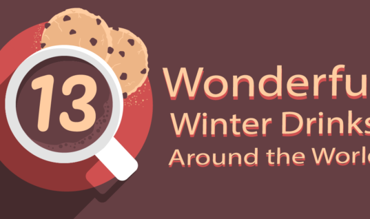 The 13 best hot drinks from around the world [INFOGRAPHIC]