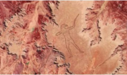 The 2-mile-long Marree Man is the second largest geoglyph in the world but nobody knows who made it