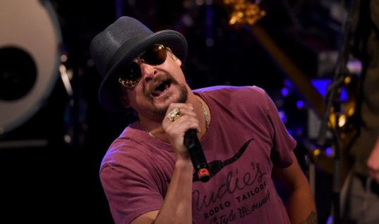 Kid Rock has donated money raised during his fake Senate run to a conservative voters group