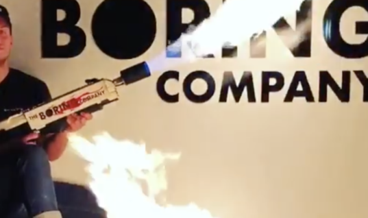 Elon Musk Says He's Sold 10,000 Flamethrowers Through His Boring Co. Website