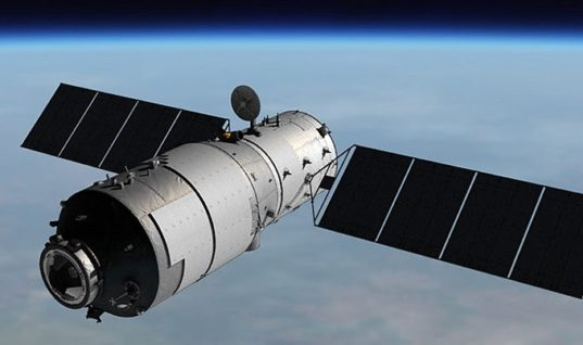 Astro Watch: Tiangong-1 Space Laboratory to Crash to Earth Between Mid-March and Mid-April, According to New ESA Estimates