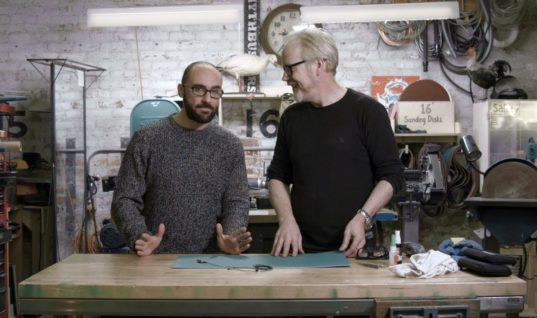 Adam Savage's One Day Builds: Vsauce Glasses Hack!