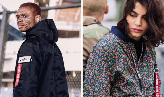 Alpha Industries Drops Camo & Floral Patterned Military Outerwear for Spring