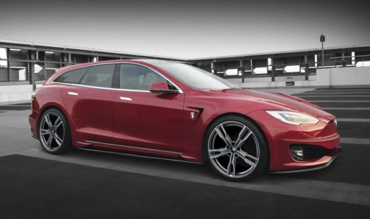 Tesla Model S Will Finally Get The Shooting Brake Treatment