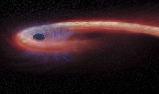 Monster Black Hole the Size of 20 Billion Suns Discovered, and It's Growing