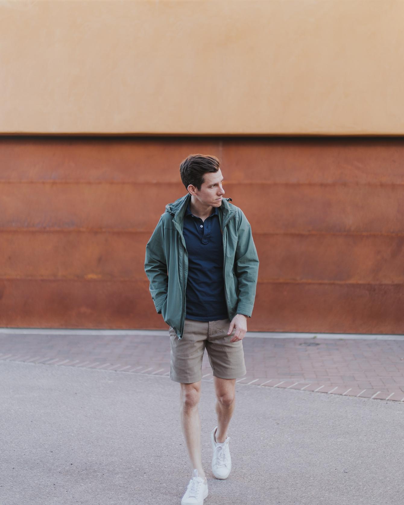 Best shorts length for men