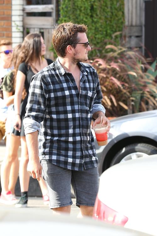 Josh Hutcherson shorts