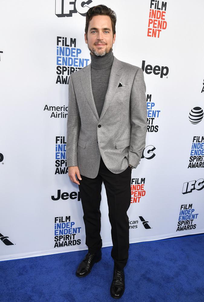 Matt Bomer With A Beard