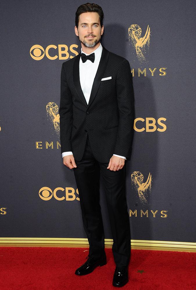 Matt Bomer Wearing A Tuxedo