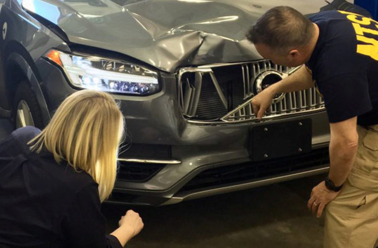Self-Driving Uber In Fatal Accident Had 6 Seconds To React Before Crash