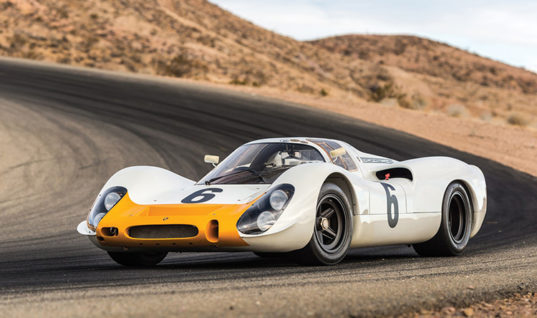 1968 Porsche 908 Works Short-Tail Coupe Rose from the Dead