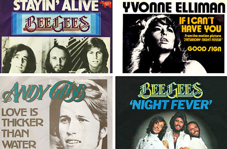 Barry Gibb Camps Out at No. 1 With Four Hits