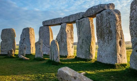 The gigantic stones of Stonehenge were moved there by Glaciers new theory claims