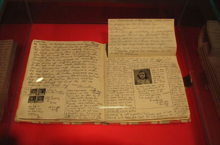 Two Pages of Dirty Jokes Found in Anne Frank's Diary