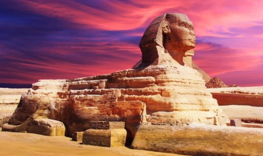 The head of the great Sphinx : is it the gateway to a secret city?
