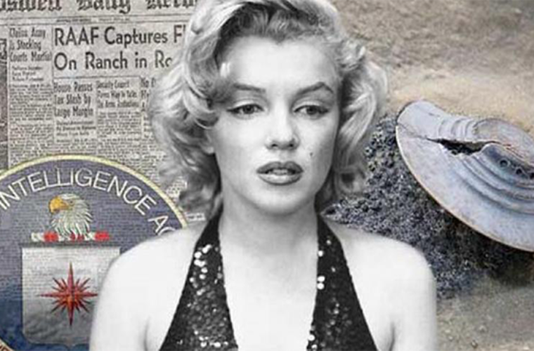 """Marilyn Monroe was """"Eliminated"""" because she knew ALIENS existed"""