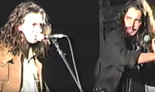 Eddie Vedder Emotionally Remembers Iconic Chris Cornell Performance