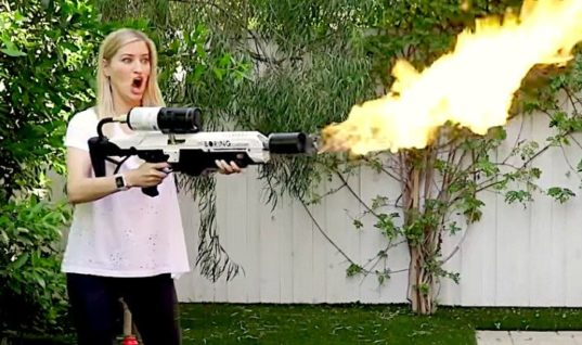Elon Musk's Flamethrowers Are Here, And People Are Already Doing Crazy Stuff With Them –