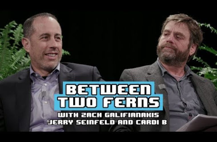 Between two Ferns with Zach Galifianakis: Jerry Seinfeld (and Cardi B)
