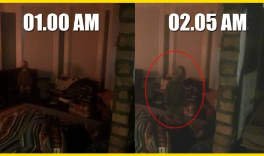 Man Who Claims His Apartment Is Haunted Provides Chilling Proof