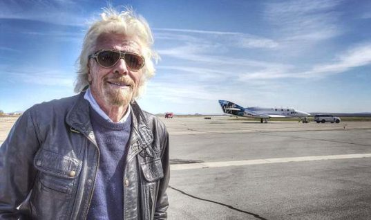 Virgin Galactic Boss Sir Richard Branson To Be Passenger On First Commercial Space Launch