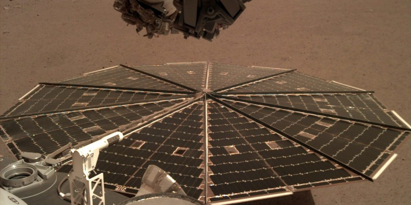 Sounds of Mars wind captured by Nasa's InSight lander