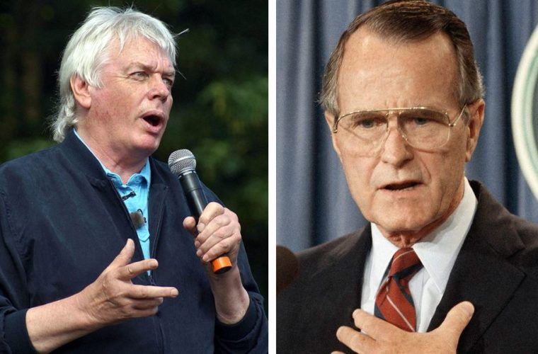 David Icke Explains Why It's A Shame That George H. W. Bush Wasn't Interrogated Before He Died